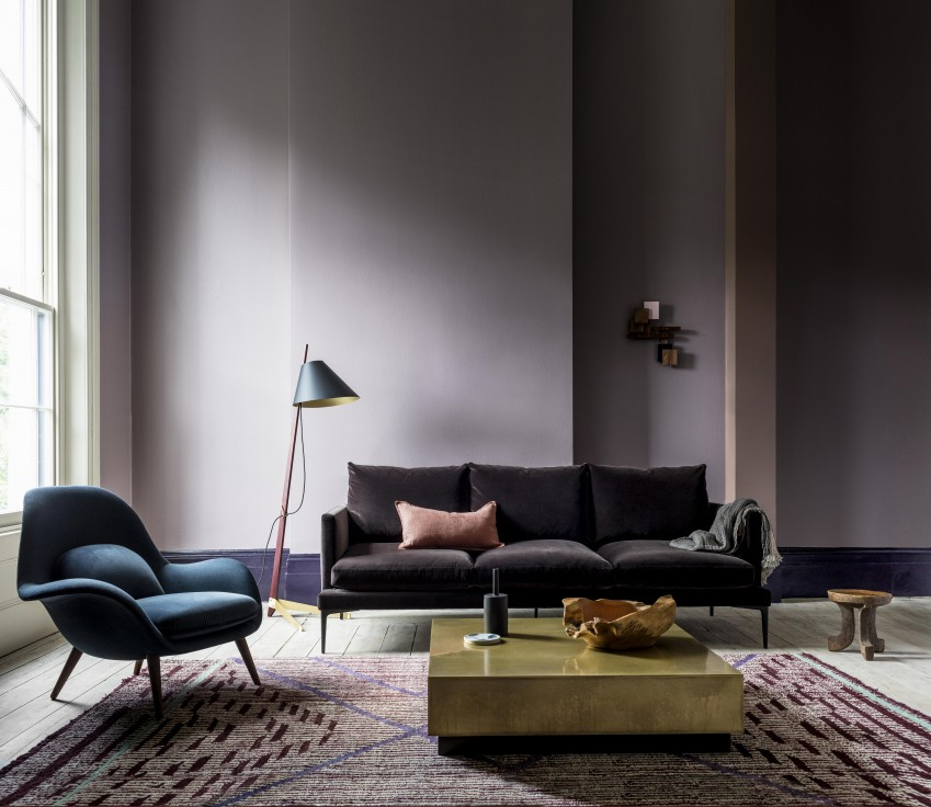 Living Room Colour Uk the making of a colour trend - elle decoration uk