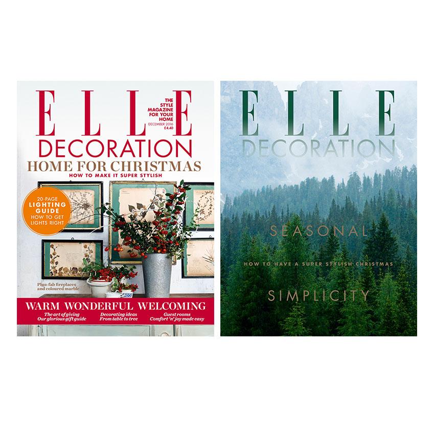 The December Issue 2016 Elle Decoration Uk
