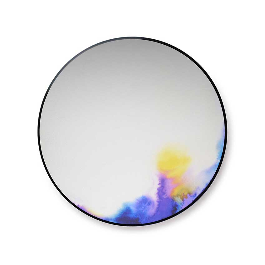 10. 'Francis Round' wall mirror by Petite Friture, £450. A functional work of art, with a painterly design that evokes the effect of paints clouding in water.