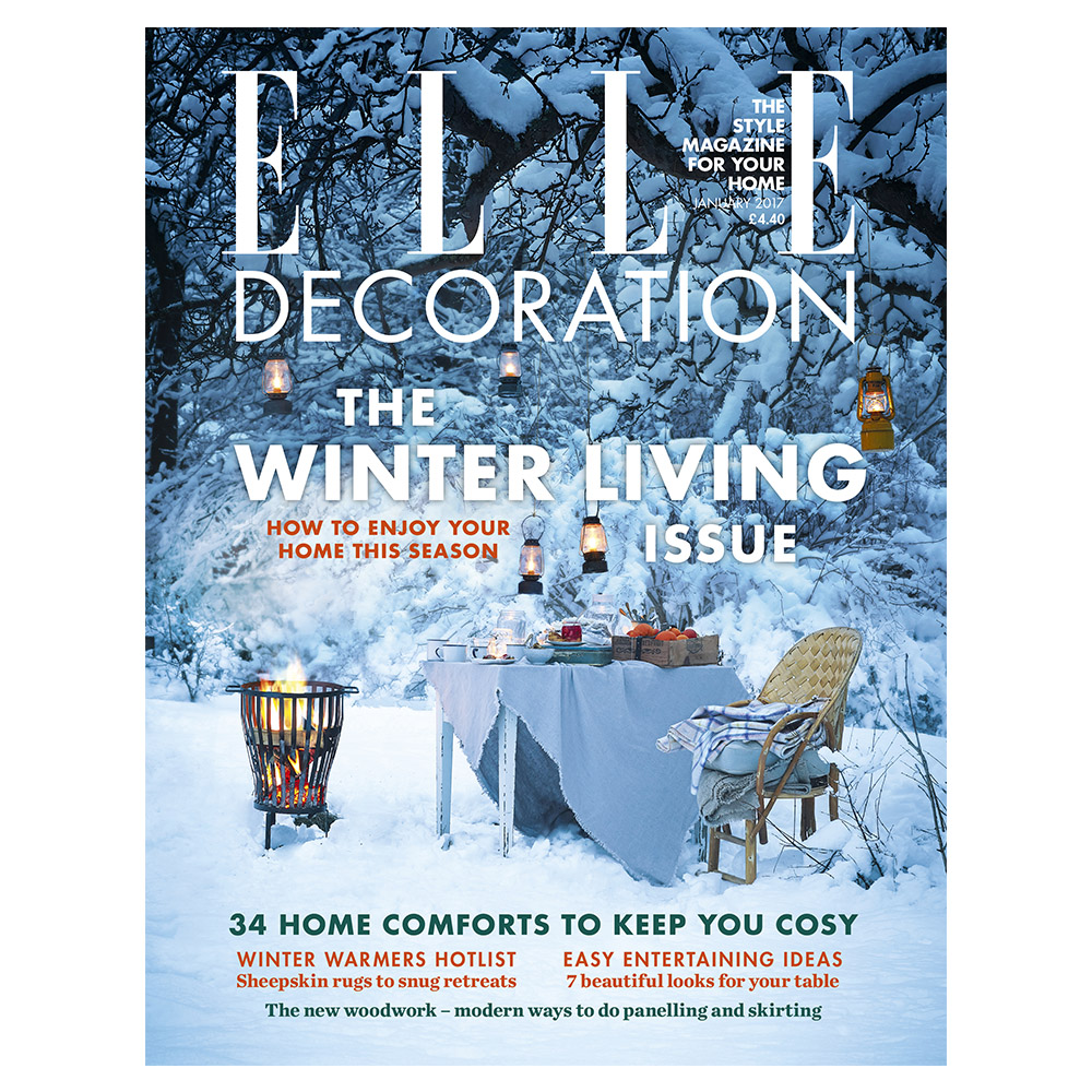 The January Issue 2017 Elle Decoration Uk