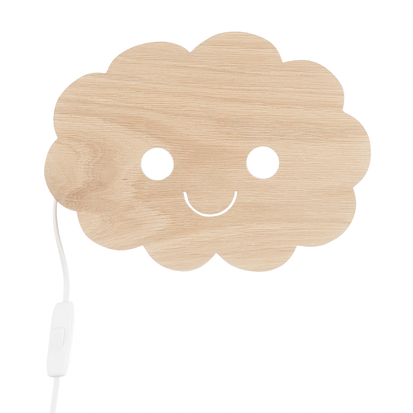 Dutch duo Studio Zoethout's sustainable oak 'Happy Cloud' wall light will delight young design lovers. £72, Etsy (etsy.com)