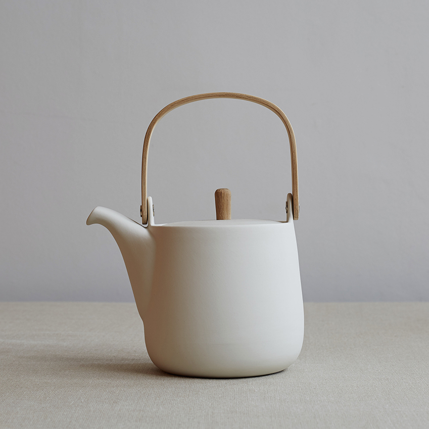 Bag this stylishly simple 'Mr & Mrs' teapot for a committed tea drinker. £110, Sue Pryke (suepryke.com)