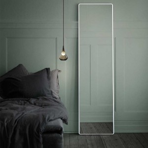 "The perfectly simple ""Vipp913"" mirror from Vipp. £750."