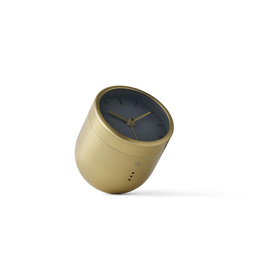 Blow the Budget 'Norm Tumbler' clock, £149.95, Menu