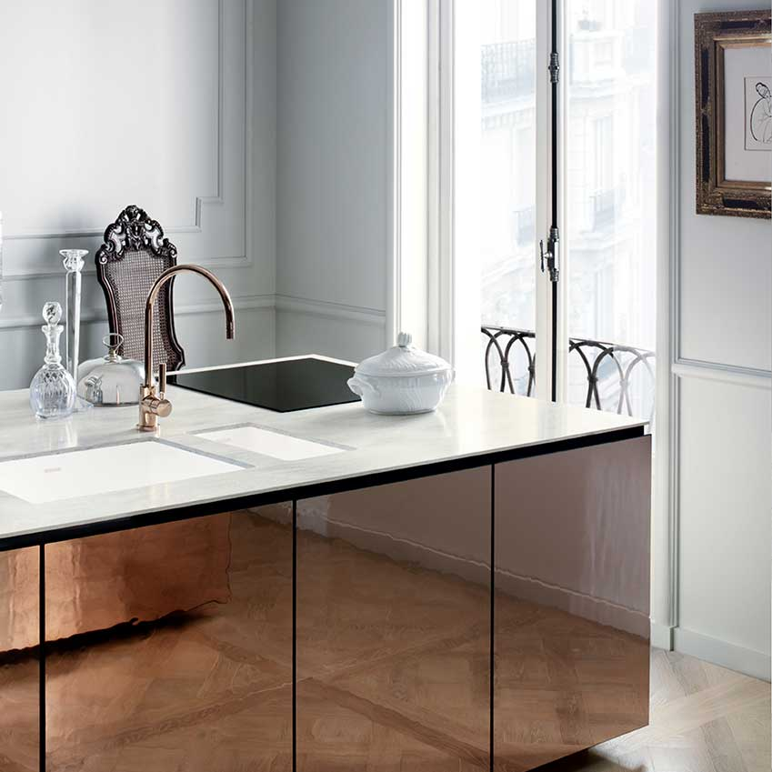 Solutions Copper Kitchens ELLE Decoration UK