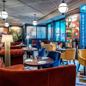 The new Soho outpost of The Ivy restaurant and brasserie, London