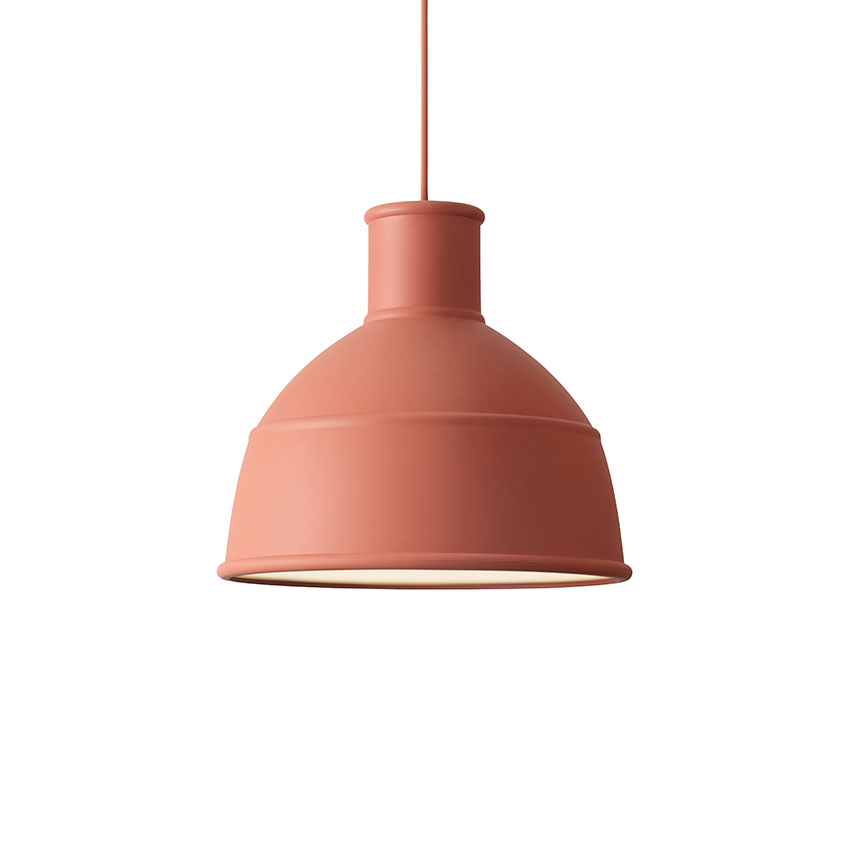 'Unfold' pendant lamp in terracotta, £149, Muuto