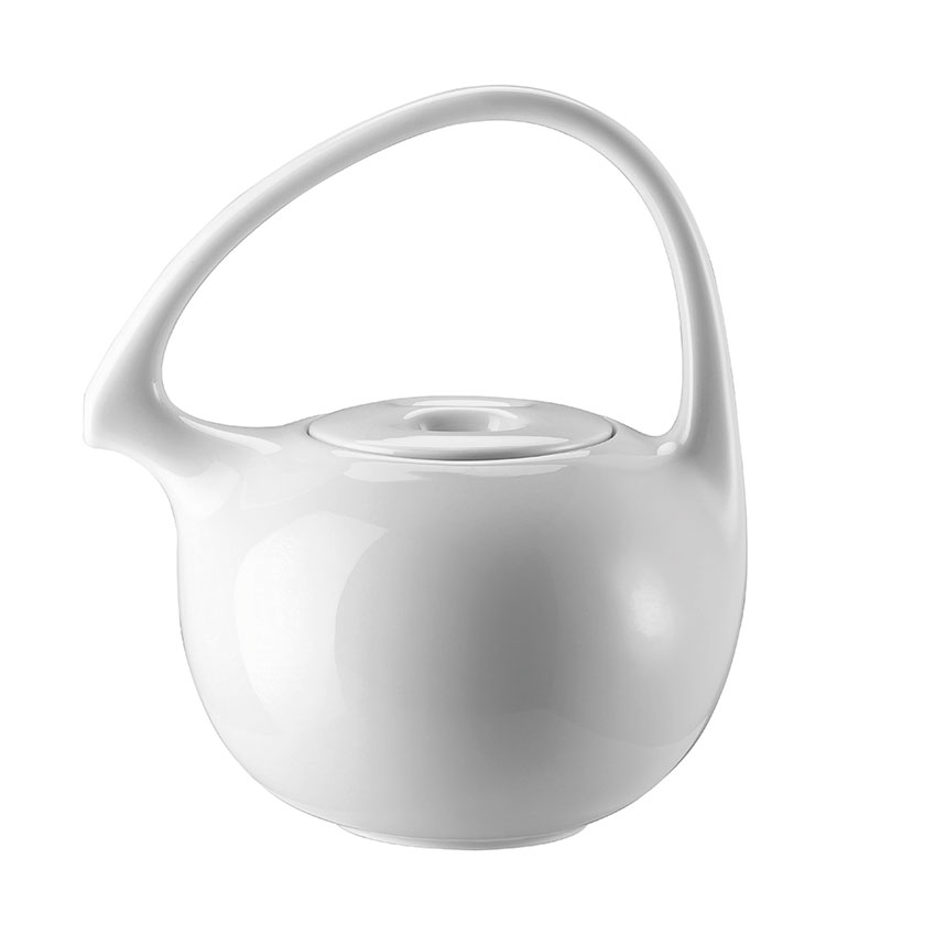 The Design Classic 'Cha' teapot in white by Federica Capitani, £147, Rosenthal