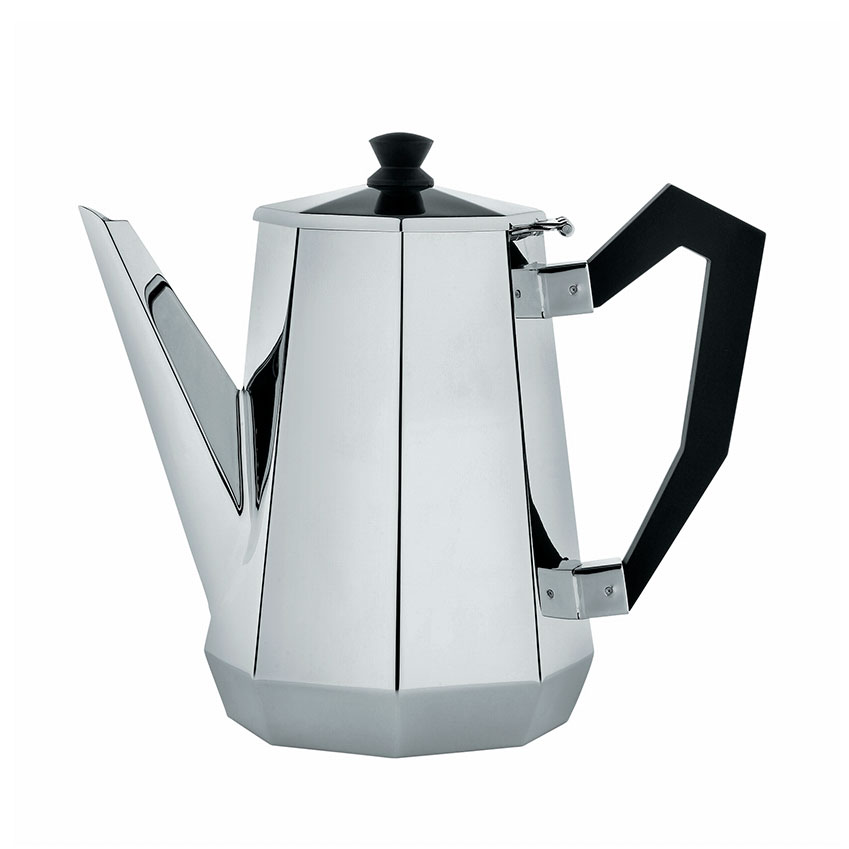 The Design Classic 'Ottagonale' coffee pot by Alessi, £95, John Lewis