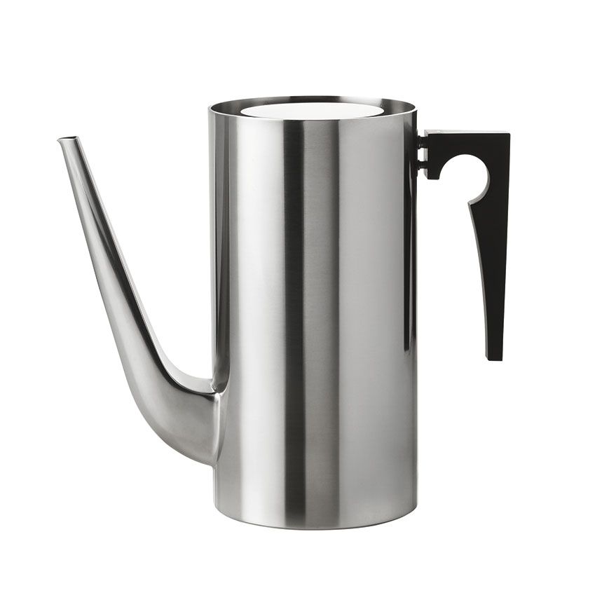 Or Blow the Budget 'Cylinda Line' coffee pot by Arne Jacobsen, £219, SCP