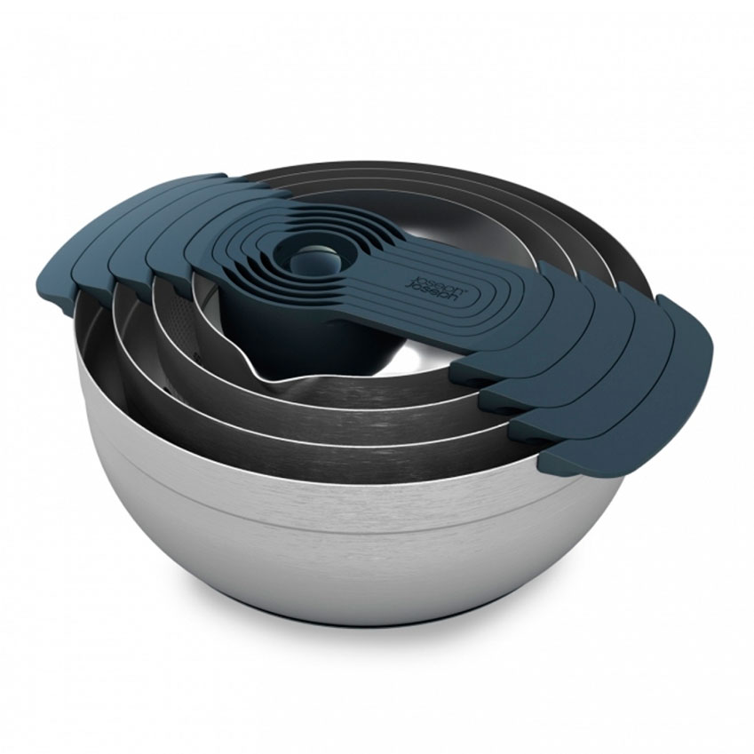 The Investment Piece 'Nest 100' bowl set by Joseph Joseph, £99.95, Steamer Trading Cookshop