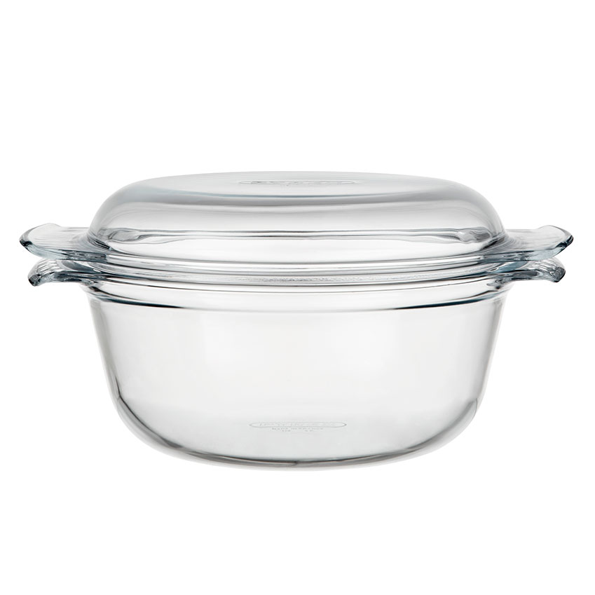 The Design Classic 'Easy Grip' casserole dish by Pyrex, £8.99, John Lewis
