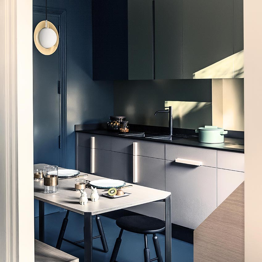 Solutions Blue Kitchens Elle Decoration Uk
