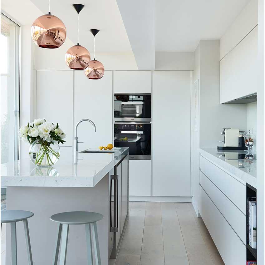 Modulnova white kitchen.