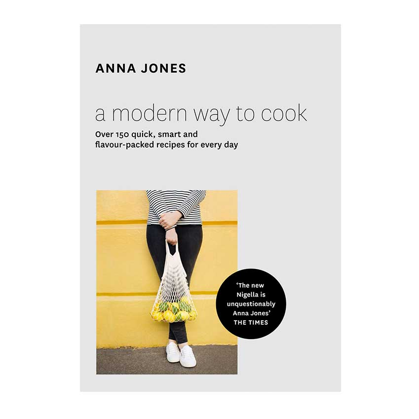 A Modern Way to Cook by Anna Jones Billed as 'the new Nigella', Jones has cooked everywhere from East London school kitchens to Australian beaches, not to mention a G20 leaders' summit at 10 Downing Street! Nevertheless, switching to vegetarianism a few years ago gave her a new lease of life and this cookbook proffers the results: recipes so glorious you're not meant to notice that they're also meat-free.