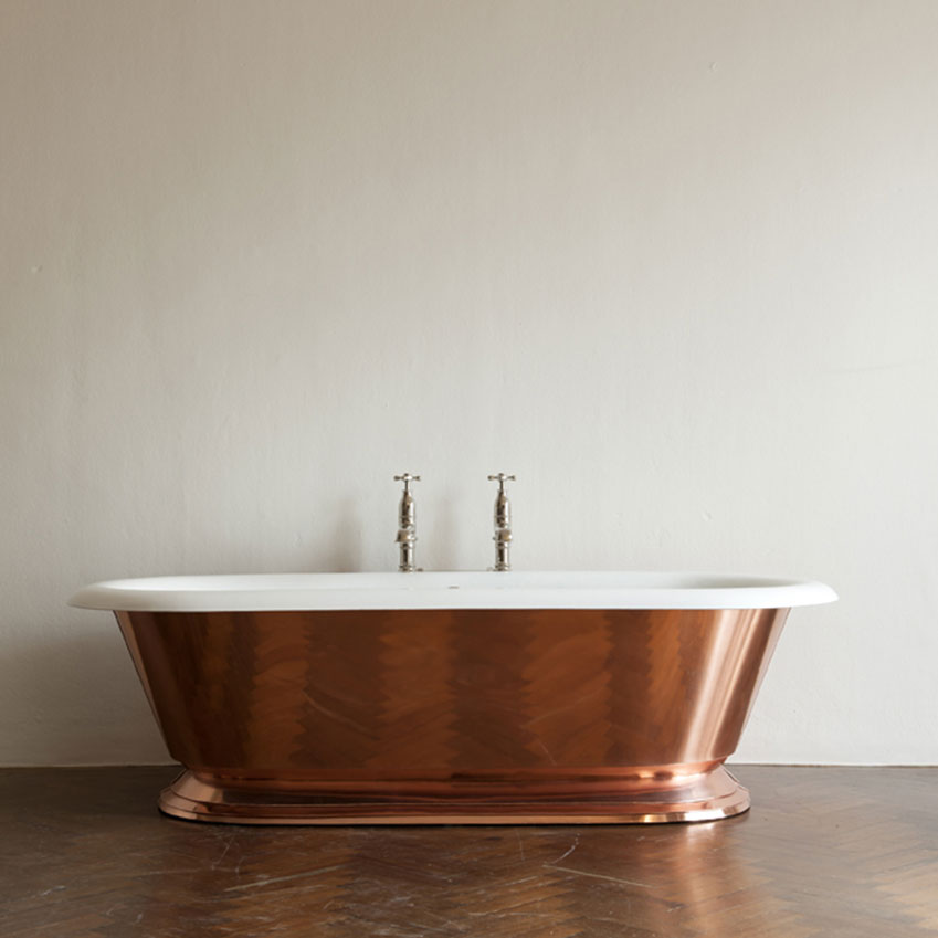 'The Copper Tay' bath, from £8,940, Drummonds