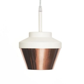 'Pran 220-A' lamp in copper by Position Collective, £215.75, Clippings