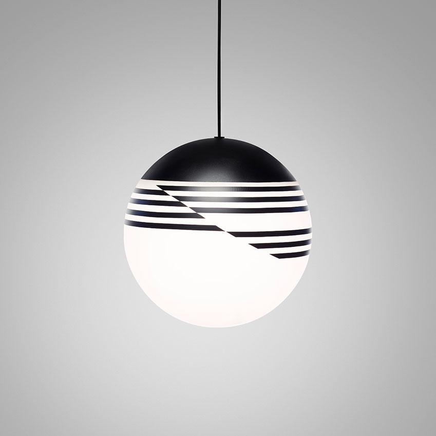 'Optical' pendant light, £425, Lee Broom