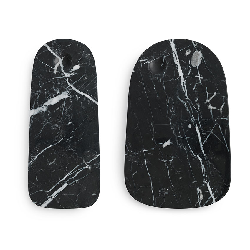 'Pebble' marble serving board in black by Simon Legald for Normann Copenhagen, from £49.90, Selfridges