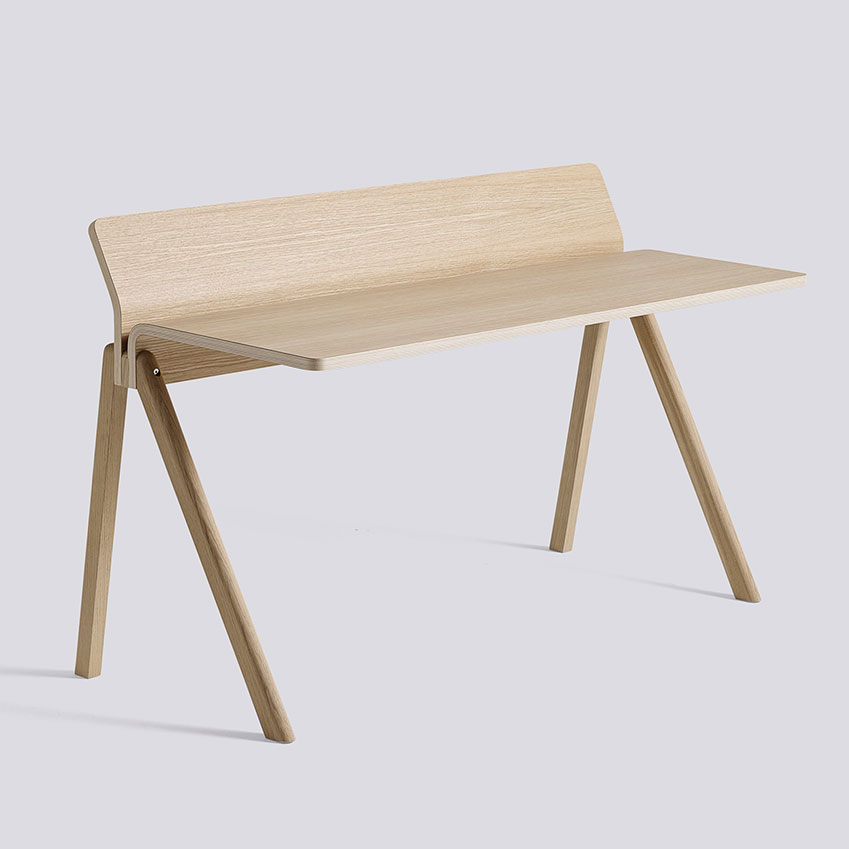 'Copenhague' desk in oak plywood by Ronan and Erwan Bouroullec for HAY, £855, Skandium