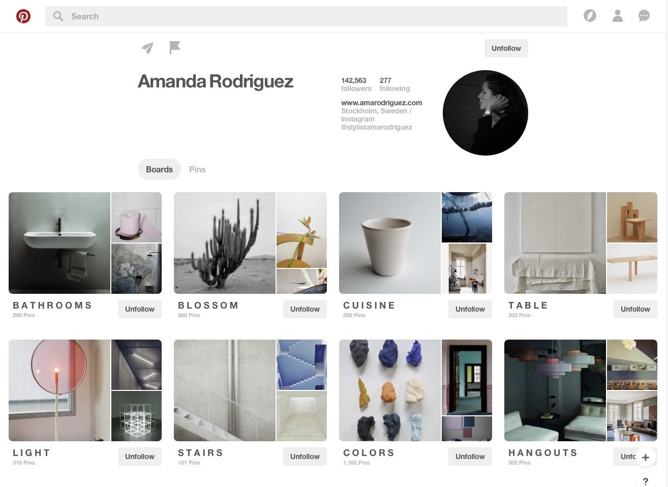 Amanda Rodriquez Pinterest board