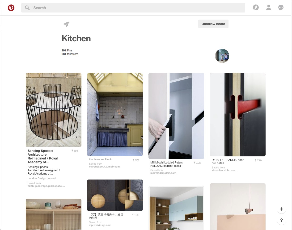 Louise Grey Pinterest board Kitchens