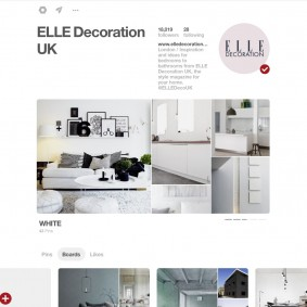 ELLE Decoration UK Pinterest board