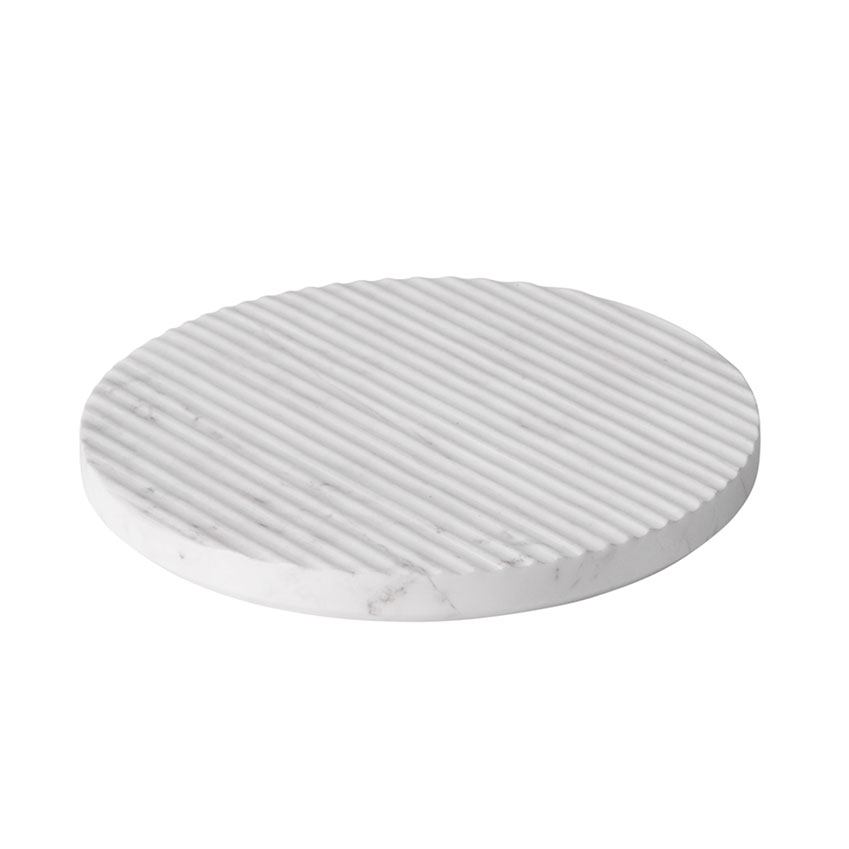 'Groove' trivet in white marble by Muuto, from £34, Nest