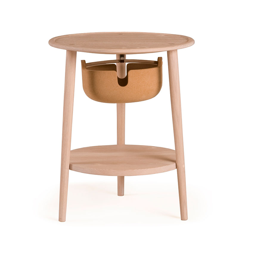 Ilse Crawford's 'Companions' bedside table in American white oak for De La Espada. Twentytwentyone, £1,290.