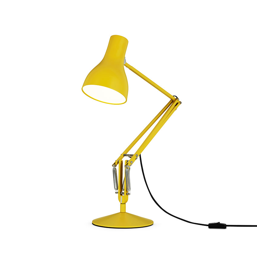 'Type 75' desk lamp in Yellow Ochre by Margaret Howell for Anglepoise, £140, Heal's