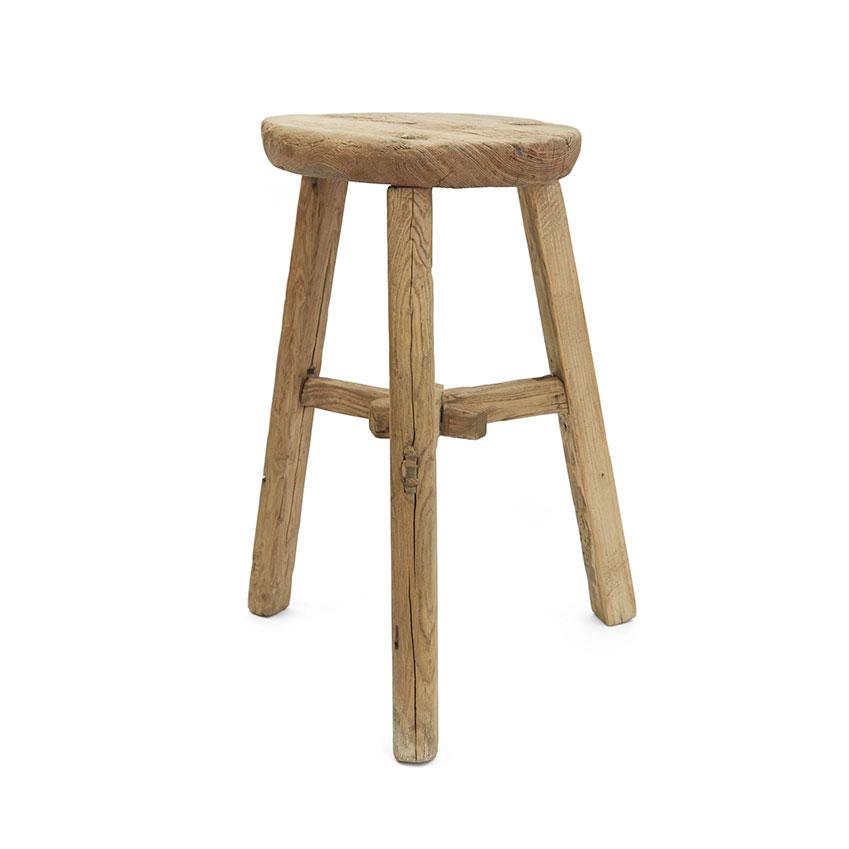 Vintage Elm stool, £150, Oggetto