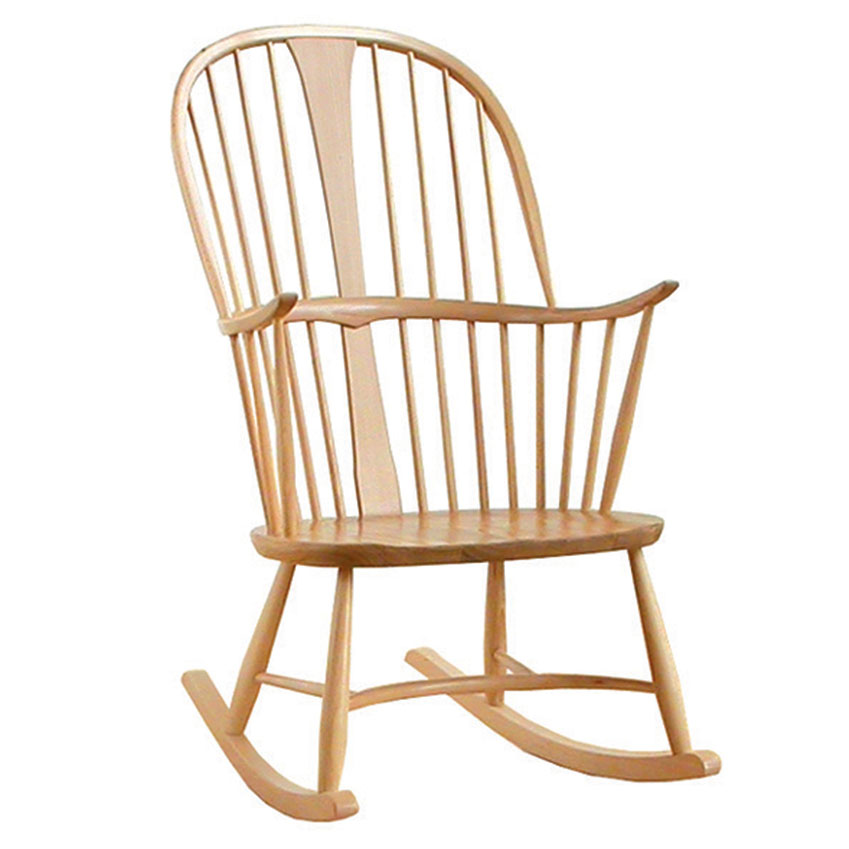 Original 'Chairmakers' rocking chair, £890, Ercol