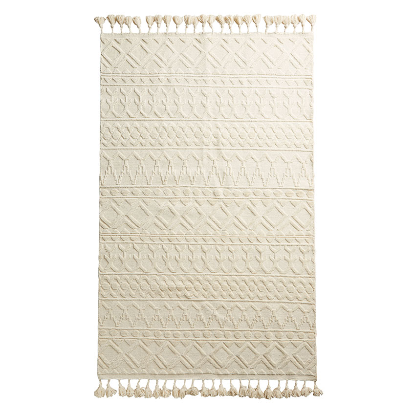 'Kamala' hand knotted rug, from £198, Anthropologie