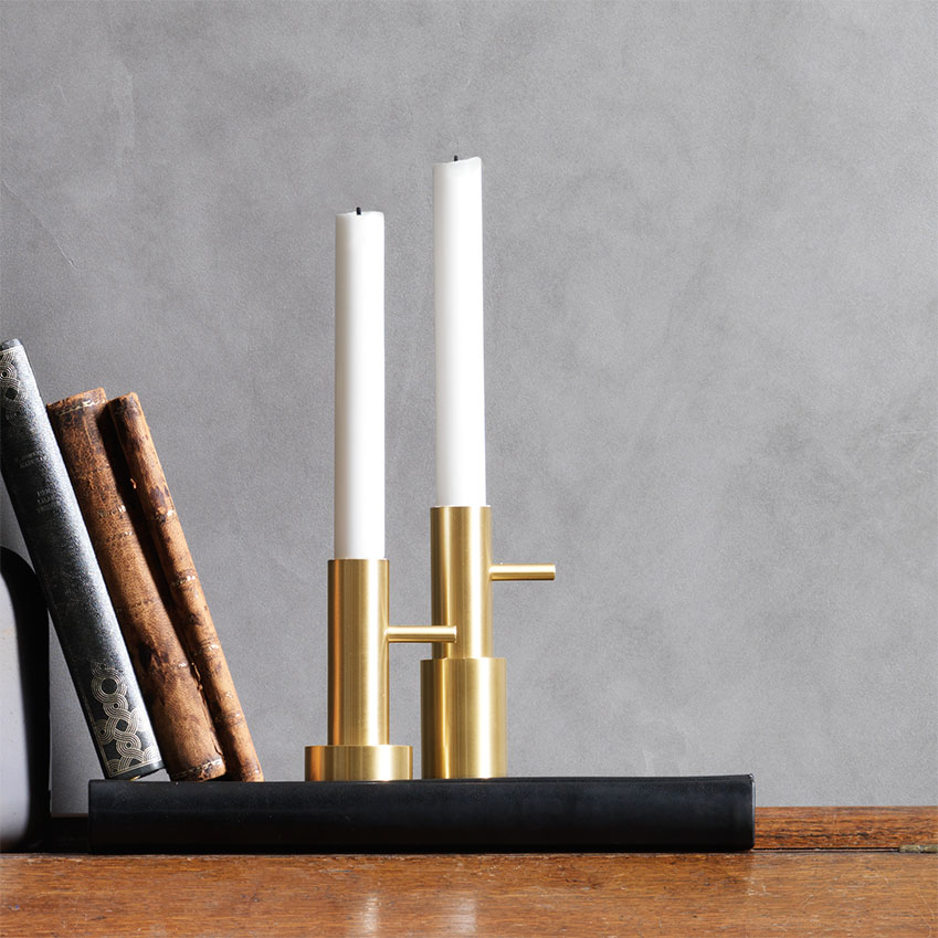 Candleholder by Jaime Hayón, from £70 each for Fritz Hansen.