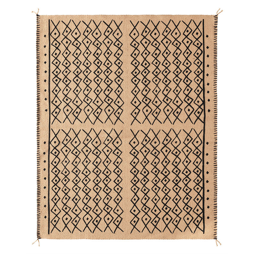'Jassa' flatwoven rug made from jute, £65, Ikea