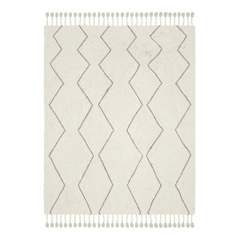 'Souk' wool rug, £499, West Elm