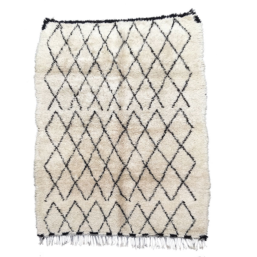 naador with canals inspired berber by cotton rug lorena handmade