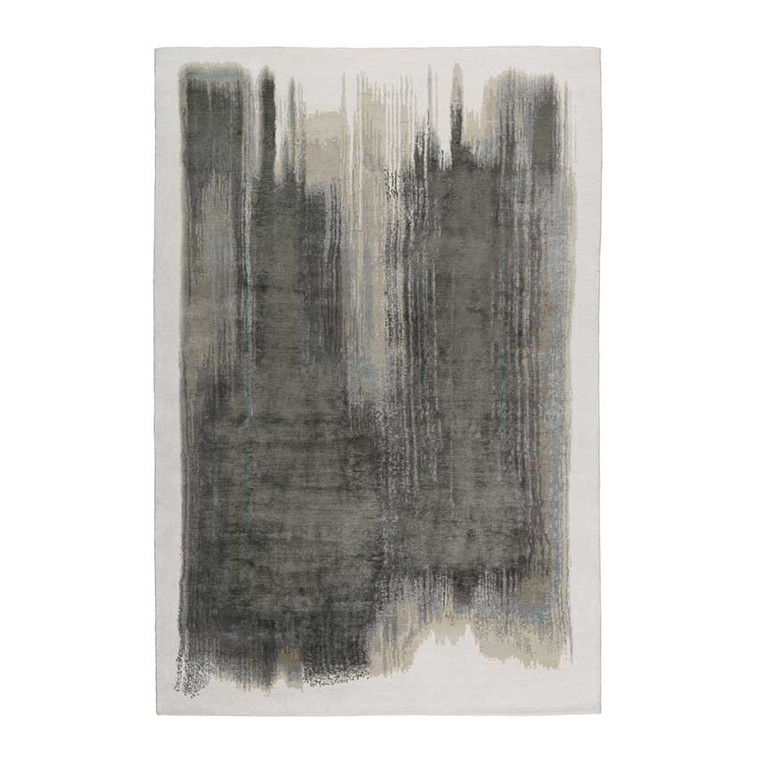 New neutrals: 'Brushstrokes' rug by Elie Saab, from £1,700, The Rug Company