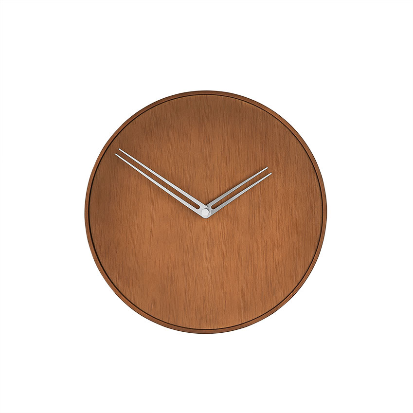 Wooden wall clock by Nomon, £420, Heal's