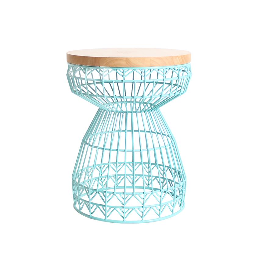 'Sweet' stool in aqua by Gaurav Nanda for Bend Goods, £390.46, Design Relations