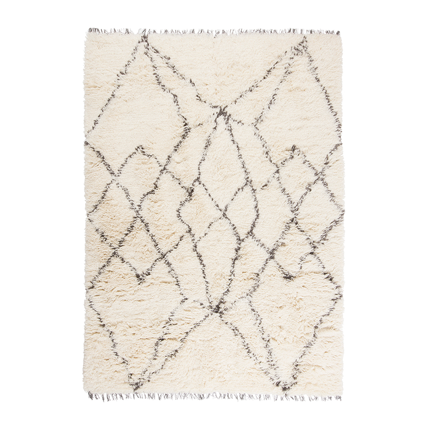 'Ruffle' wool rug by Linie Designs, £419, Heal's