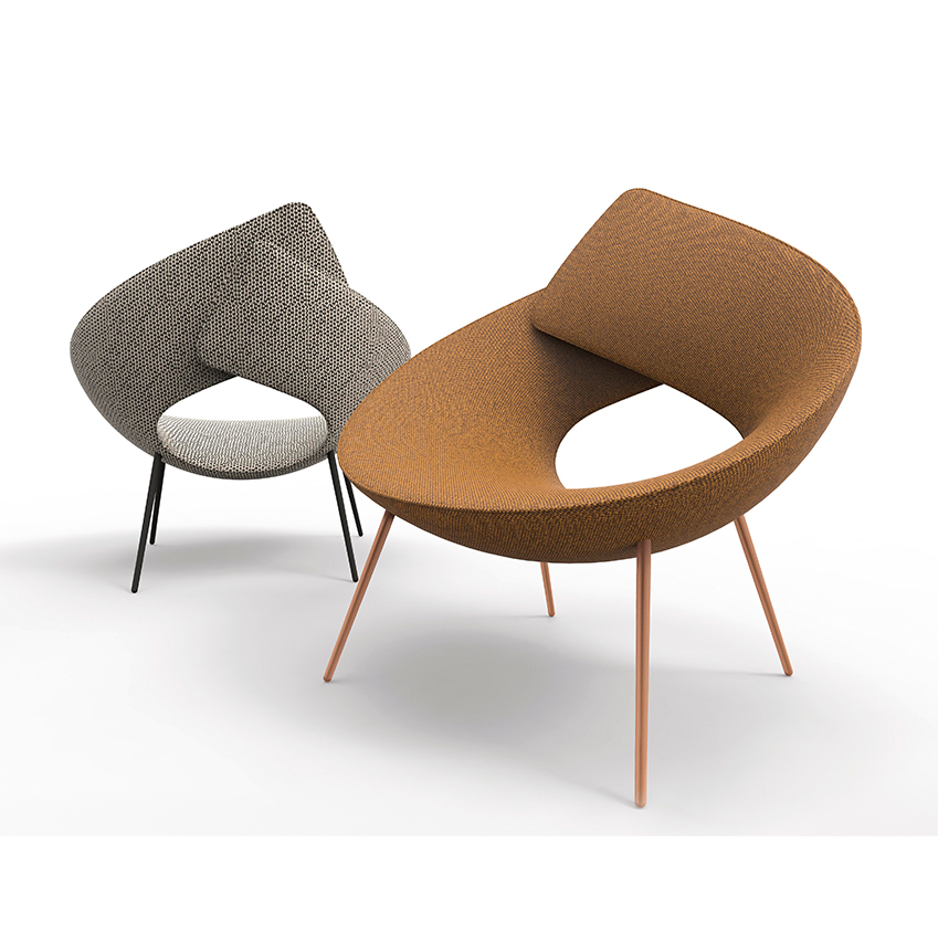 'Lock' armchair by Alessandro Busana, £1,273, Bonaldo