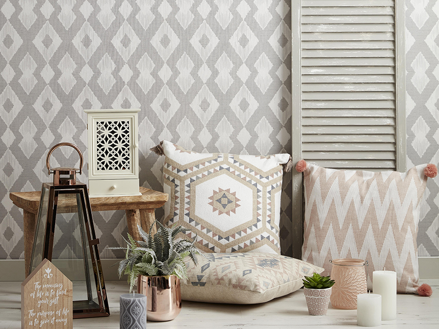 8 Unexpected Wall And Floor Patterns To Try In Tiny Rooms