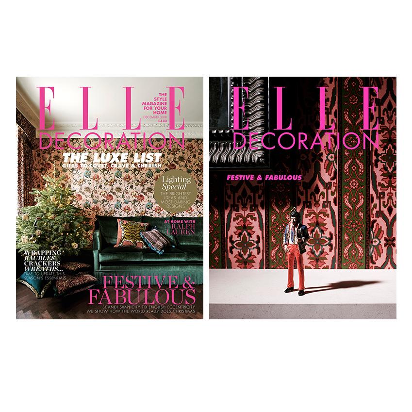 December 2018 elle decoration uk for Elle decoration uk
