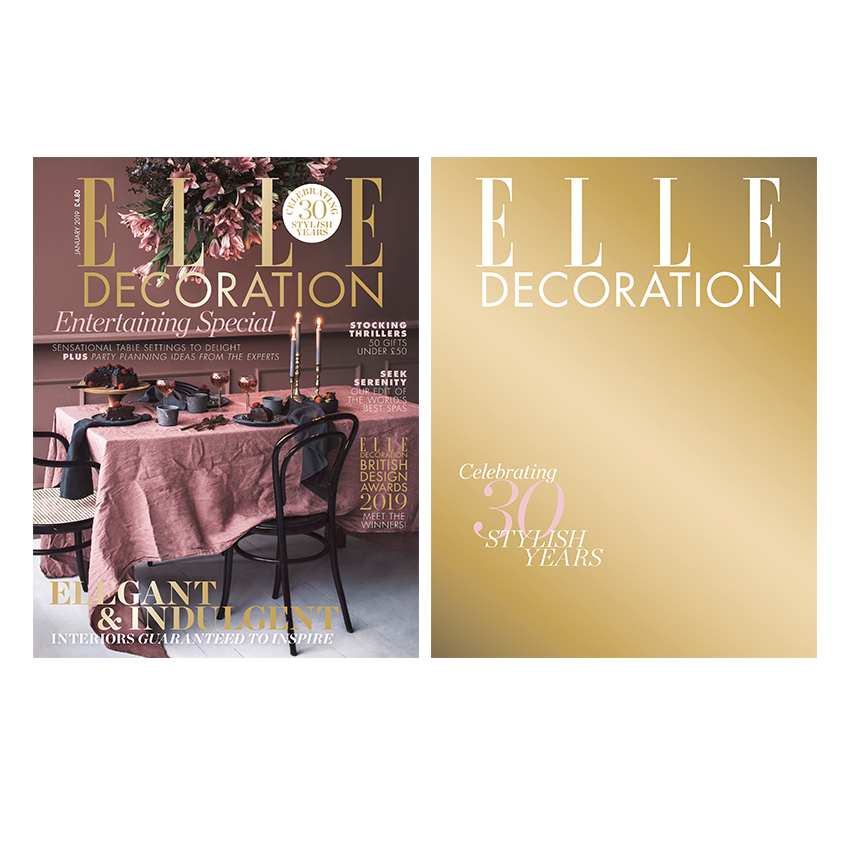 January 2019 Elle Decoration Uk