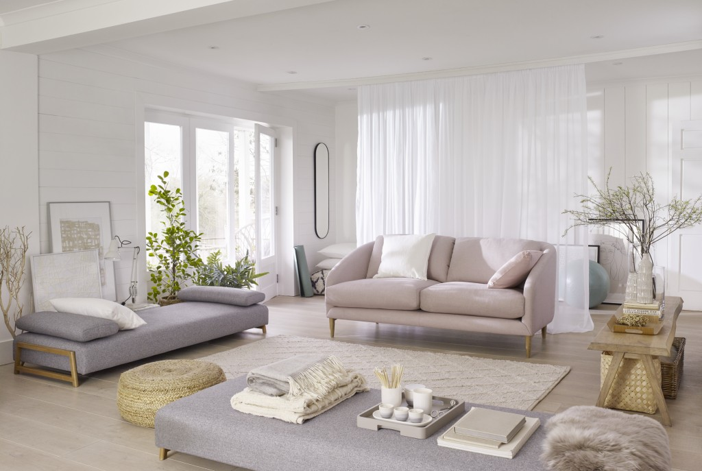 10 Ways To Elevate A Minimalist Living Room Elle Decoration Uk