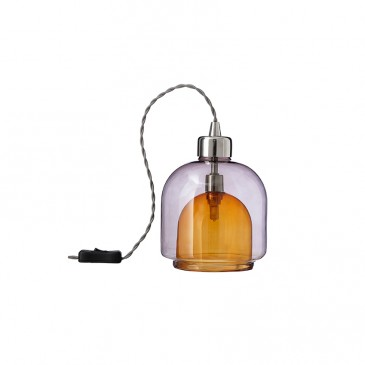 'Ambience Layer' glass light, John Lewis