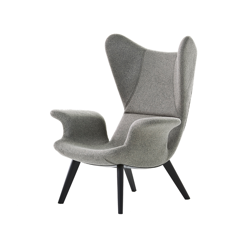 'Longwave' armchair from Diesel & Moroso's 'Successful Living' range, £1,980, Moroso (moroso.co.uk)