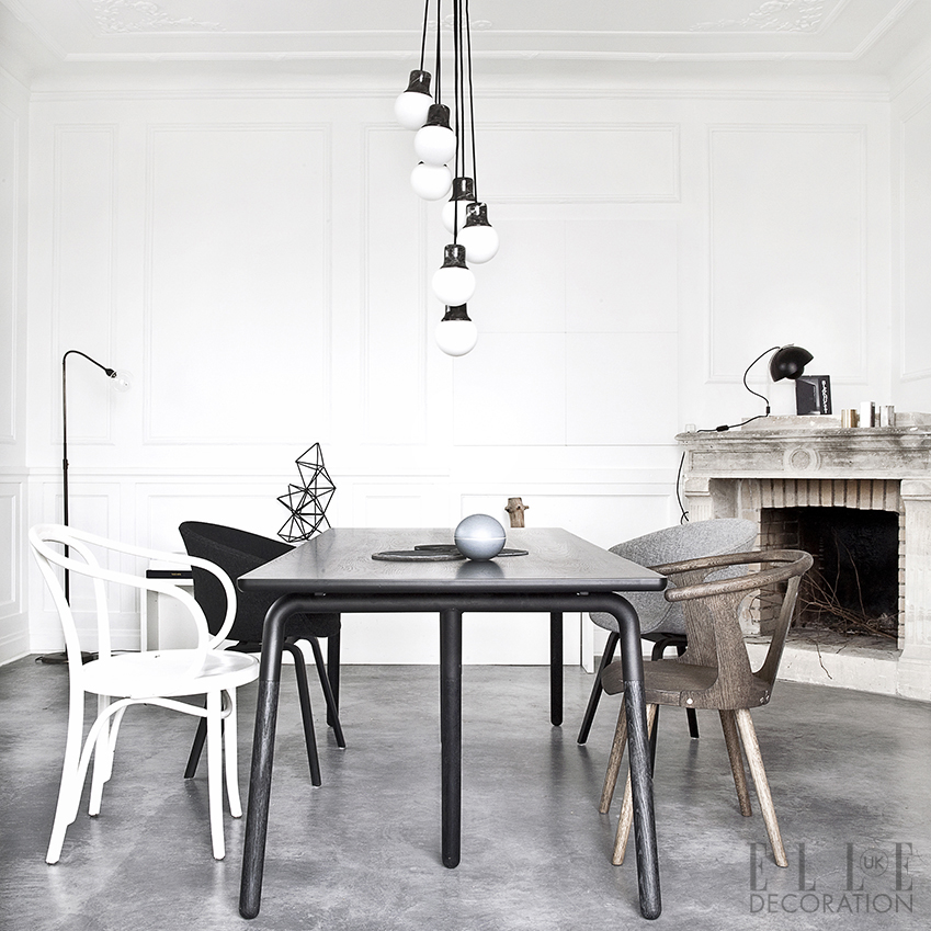 Statement lighting can help create a central feature in an open-plan space. This is the 'Mass' chandelier by Norm for &Tradition (andtradition.com)<span>Photography: Jonas Bjerre-Poulsen</span>