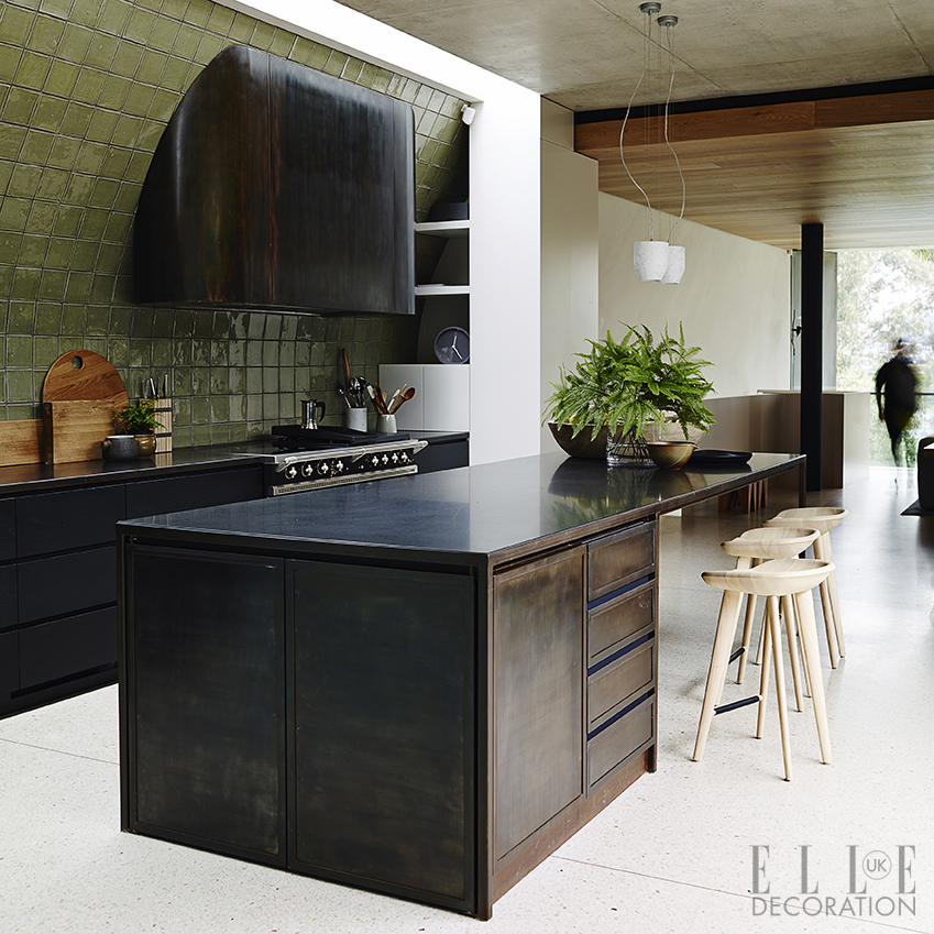 Kitchen design inspiration decoration ideas elle for Kitchen wall island